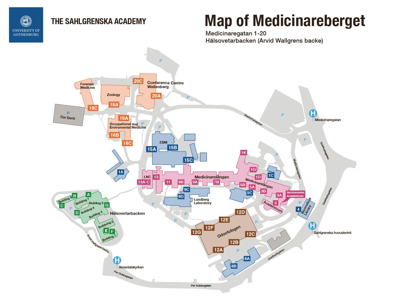 sahlgrenska karta Sahlgrenska Academy – Student Portal sahlgrenska karta